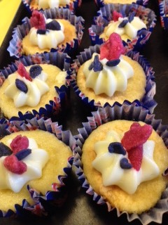 jubilee cupcakes with candied roses and violets.gf JPG.jpg